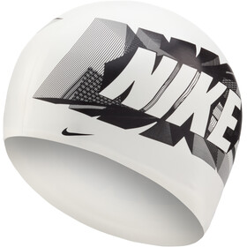 Nike Swim Logo Silikonkappe white